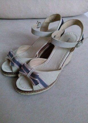 Kup mój przedmiot na #vintedpl http://www.vinted.pl/damskie-obuwie/sandaly/19026873-sandaly-na-koturnach-r-41