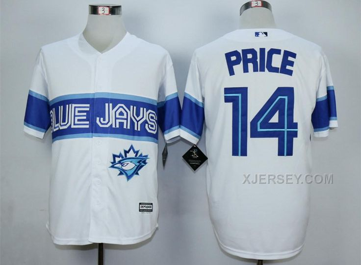 http://www.xjersey.com/blue-jays-14-david-price-white-new-cool-base-jersey.html Only$35.00 BLUE JAYS 14 DAVID PRICE WHITE NEW COOL BASE JERSEY #Free #Shipping!