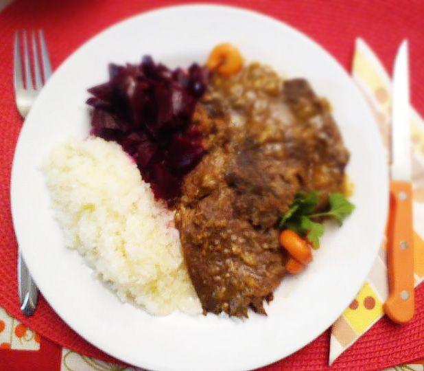 Zamatos marharagu 4 személyre NoCarb rizzsel | Klikk a képre a receptért!