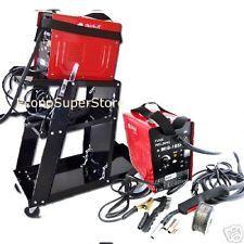 COMBO MIG-100 90AMP FLUX CORE WIRE MIG WELDING MACHINE NO GAS  WELDING CART