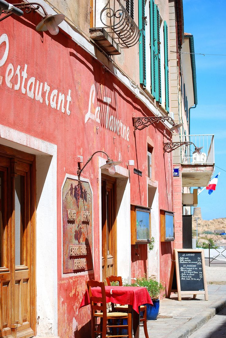 Restaurant in Corsica      #France #travel #holiday