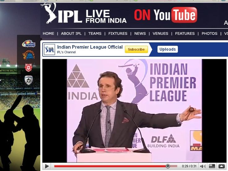 YouTube boosts live streaming with Twenty20 cricket matches | Google has announced a partnership with the Indian Premier League to live-stream upcoming cricket matches on YouTube. Buying advice from the leading technology site