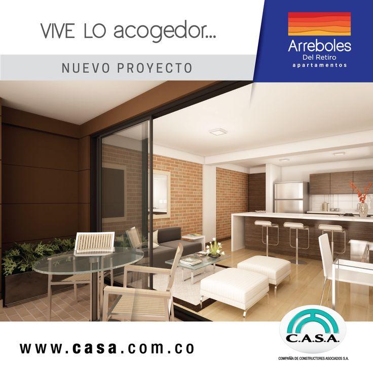 Estrena apartamento en Arreboles del retiro, vive lo acogedor #estrenar #nuevoapartamento #exclusivo #elretiro #apartamentoenventa #nuevoproyecto #campestre