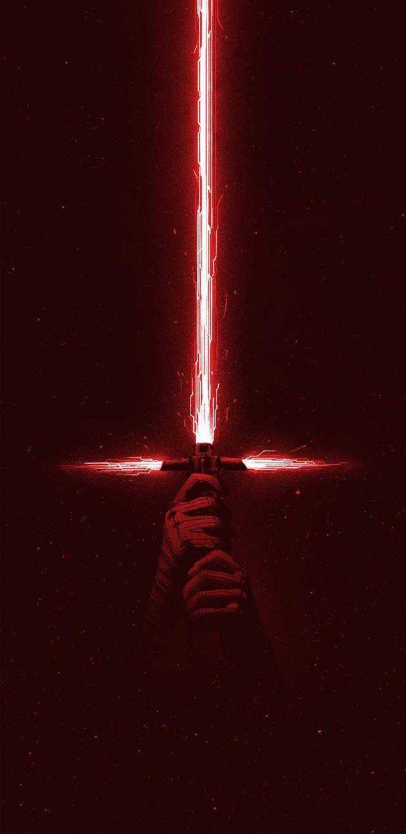 Star Wars Episode VII Basis Lightsaber Lichtschwert Kylo Ren