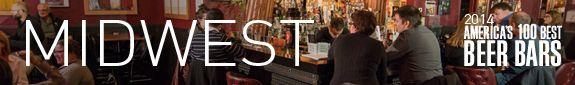 America's 100 Best Beer Bars 2014 » DRAFT Magazine:  Palm Tavern, Roman's Pub, Sugar Maple made the list for Midwest region