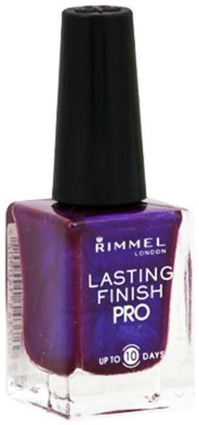 Rimmel Lasting Finish Pro Nail Polish 350 Violet Metal - 12 Units