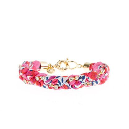 Liberty crystal braid bracelet - For Her - GiftGuide's 101 GIFT IDEAS - J.Crew