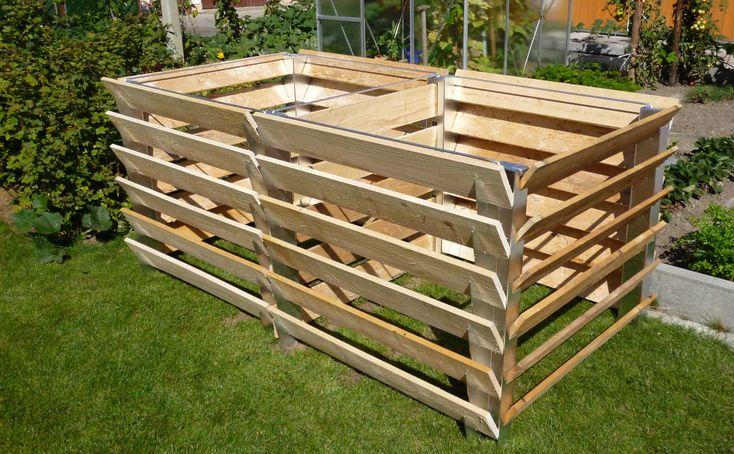 komposter f r heim und garten pinterest kompost garten hochbeet. Black Bedroom Furniture Sets. Home Design Ideas