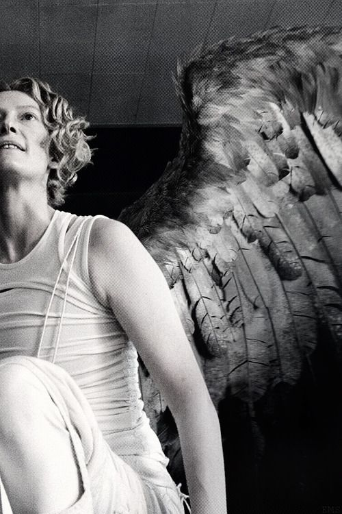 Constantine - love Tilda Swinton in this movie so androgynous its perfect