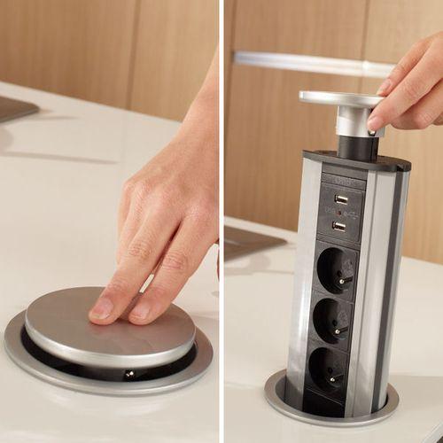 Pop up counter socket J'ai besoin de rangements pratiques dans ma cuisine