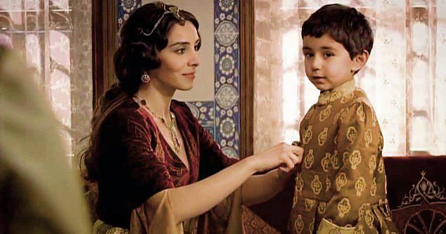 Haseki sultan and son