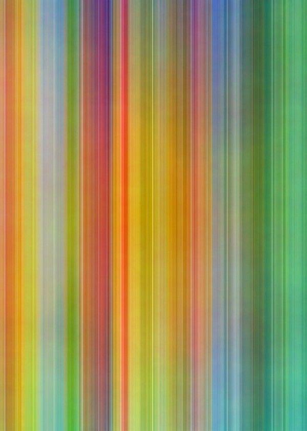 """Colorful Stripes# metal poster by Christine Baessler #pattern"