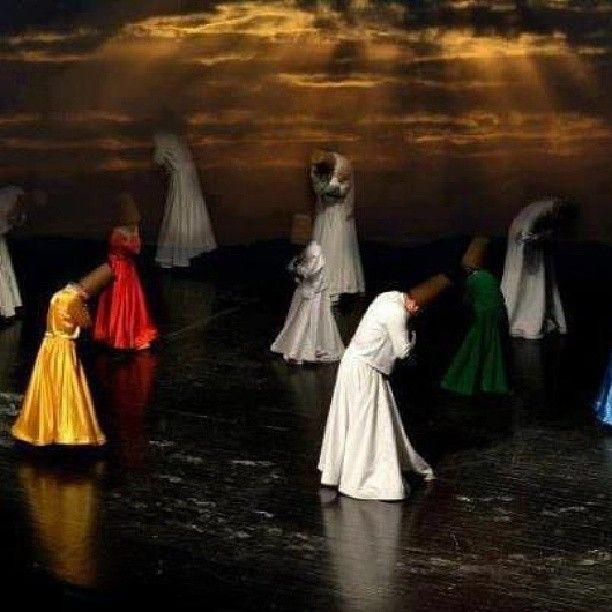 Sufi dance beginning