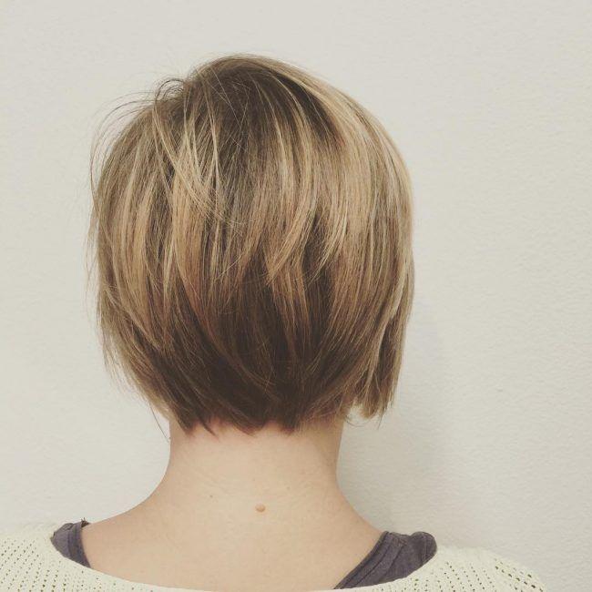 Short Layered Bob Haircuts, Bobs
