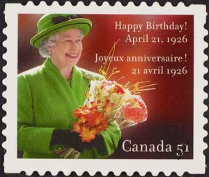 Queen Elizabeth II, Happy Birthday!, April 21, 1926