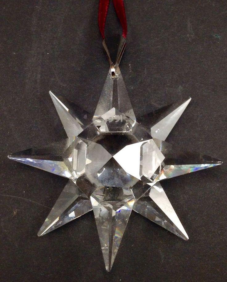 1991 Swarovski Crystal Christmas Ornament *RARE*MINT ...