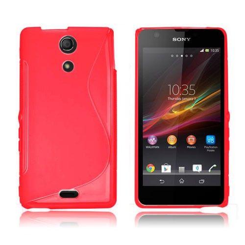 S-Line (Röd) Sony Xperia ZR-Skal
