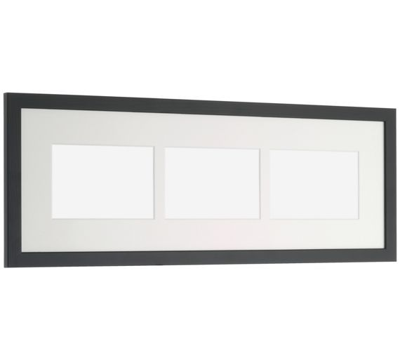 Buy Habitat Ontario Multi App 19x57cm Frame - Black at Argos.co.uk - Your Online Shop for Photo frames, Wall art, pictures and photo frames, Home furnishings, Home and garden.