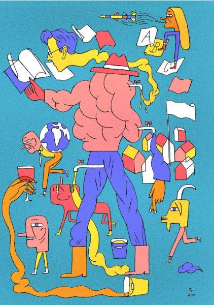 Tymek Jezierski / Illustration