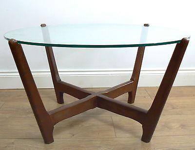 #1960s G Plan Style #circular #coffee Table   50s 70s Retro Vintage