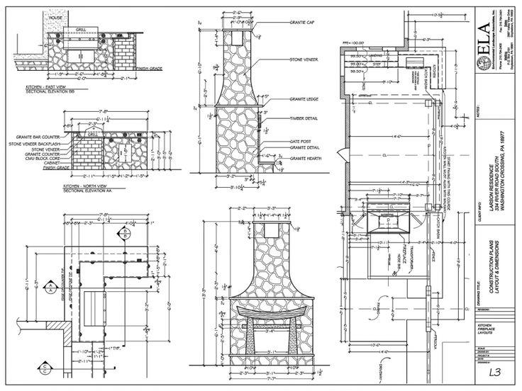 Best 25 outdoor fireplace plans ideas on pinterest diy for Outdoor fireplace blueprints