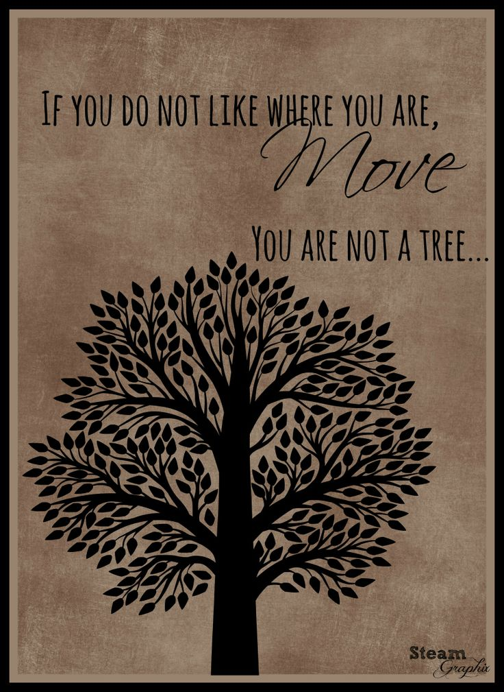 You are not a tree...