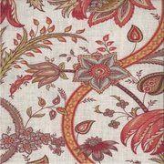 "Baronet Cerise 001 by Norbar Fabric Prism Cardinal 55% LINEN 45% RAYON USA 15,000 WYZENBEEK V-16"" H-9"" 54 - Fabric Carolina -"