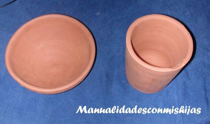 Vasijas de barro - Alfarería