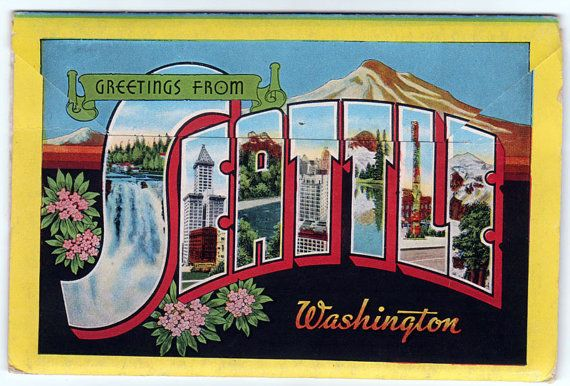 Vintage Seattle Postcards 52