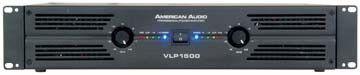 American Audio VLP 1500 - VLP Series Power Amplifier