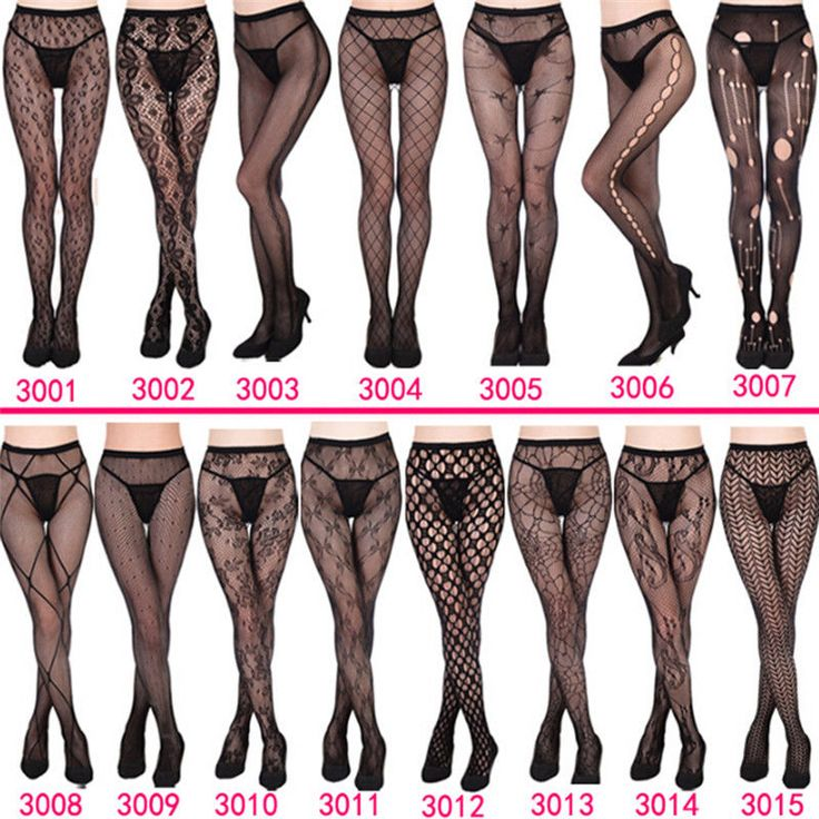 ***TRAIL-BLAZER21***  Women's Black Lace Fishnet Hollow Patterned Pantyhose Tights Stocking Lingerie #Unbranded #Tights