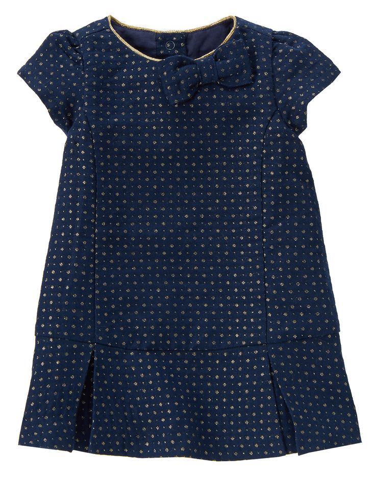 If I had a daughter, she would wear something like this! Metallic Dot Dress at Gymboree