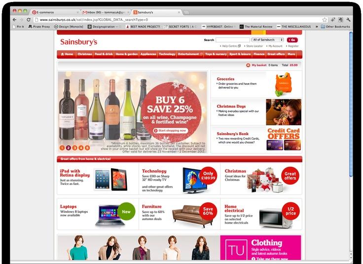 main website homepage