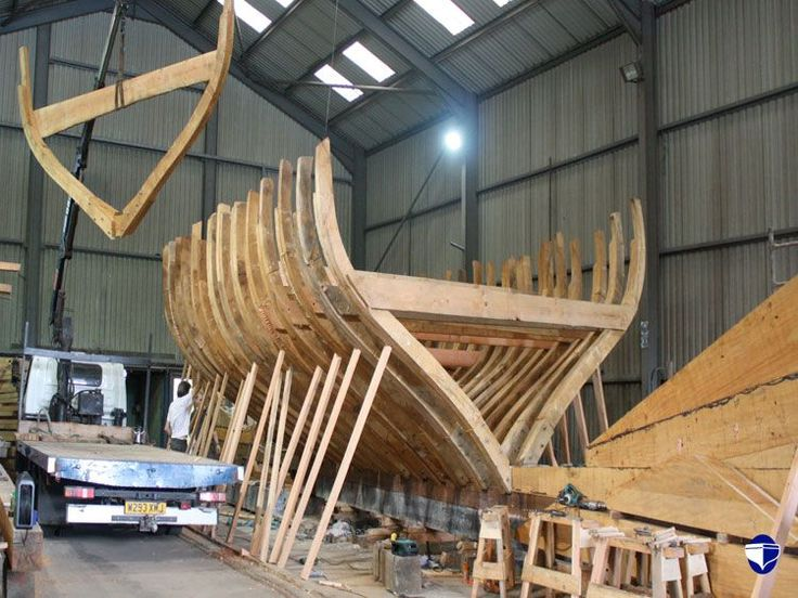 how to build a wooden boat frame