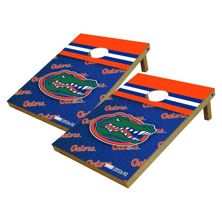NCAA Wild Sports Platinum Shield Cornhole Bag Toss Set - 2x3 ft., Florida Gators