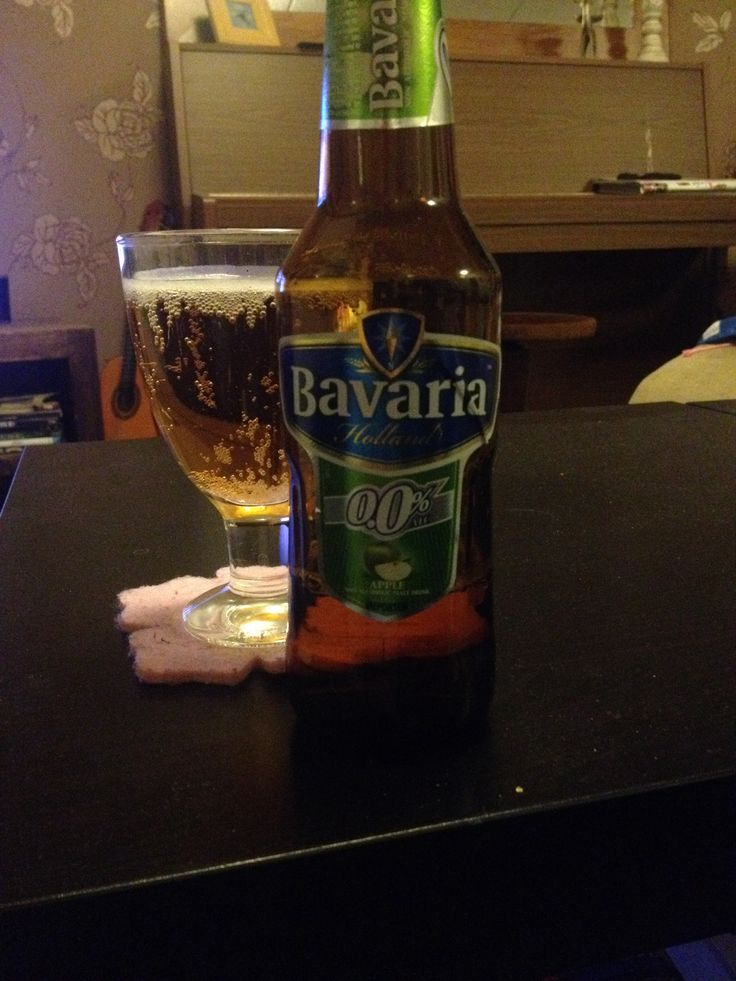 Bavaria Apple, non alcoholic malt drink that is flavored with natural apple flavoring. Nose is fresh, lots of green apples. Taste is really fresh, pleasantly sweet.  Thin foam.