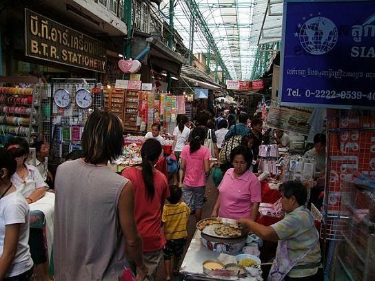 The Market in China Town Bangkok