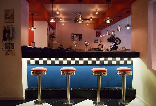 The bar. Essential to an American Diner.  Splash American Diner. See more: http://ow.ly/N8ETD