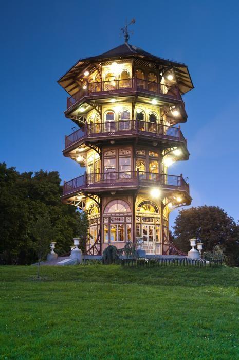 Patterson Park Pagoda, Baltimore Maryland / photography by Matthew Saindon / Fine Art America #architecture #design