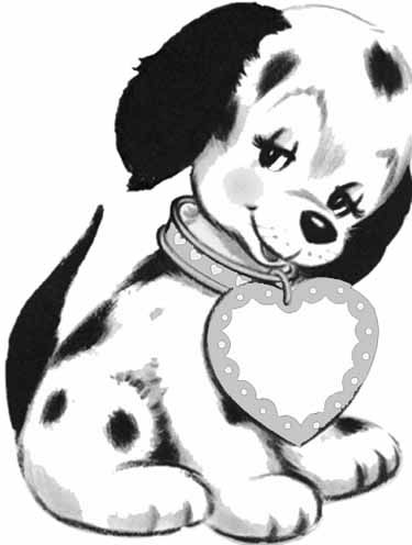 dog coloring pages free printable 17 best images about dogs on coloring puppys 6471