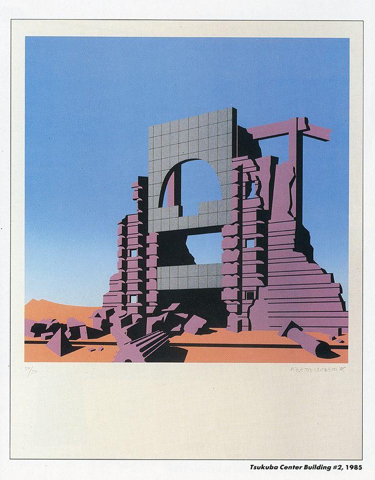 Arata Isozaki. Arts and Architecture v.4 n.2 July 1985: 39