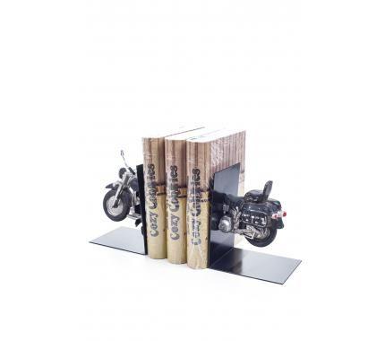 Decotown Klasik Motosiklet Kitap Tutucu