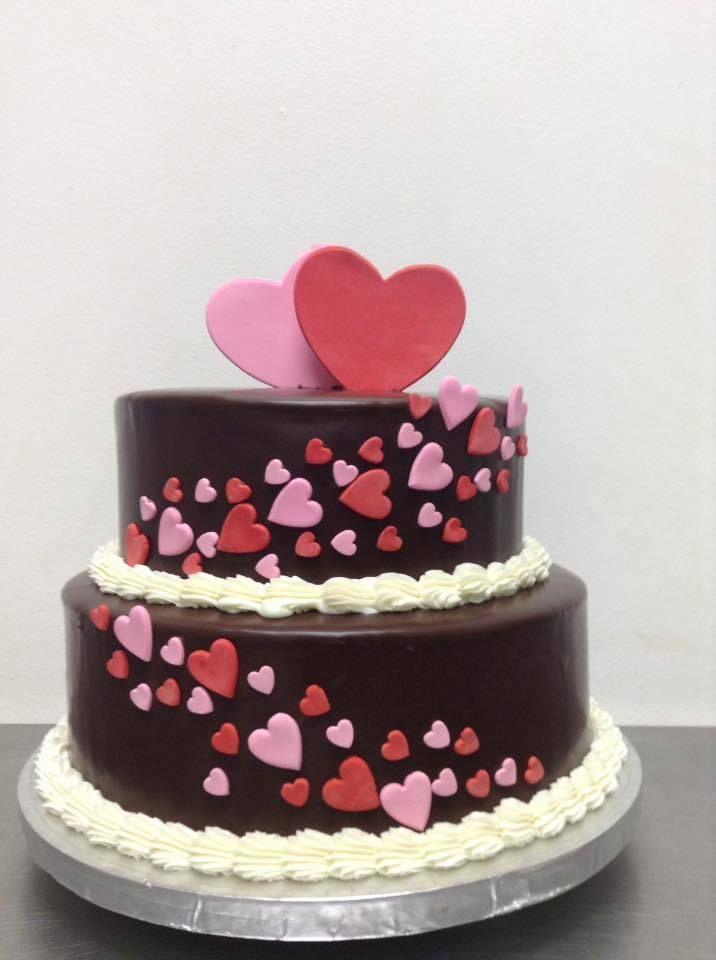 Hearts - The Chocolate Cake Company