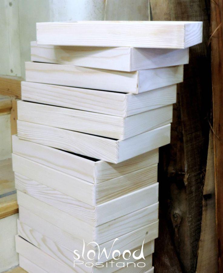Vassoi in legno. Design minimal