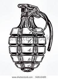Image result for hand grenade illustration