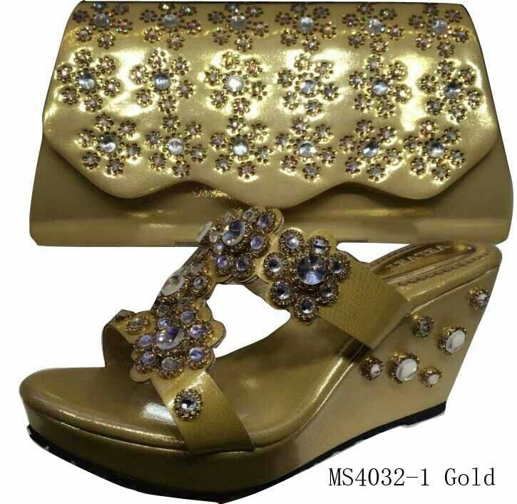wholesale high quality fashion italian shoes and bags for lady ISB1412007