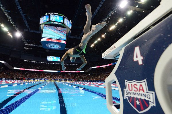 Michael Phelps Photos Photos - Michael Phelps of the United States competes in a preliminary heat of the Men's 200 Meter Butterfly during Day 3 of the 2016 U.S. Olympic Team Swimming Trials at CenturyLink Center on June 28, 2016 in Omaha, Nebraska. - 2016 U.S. Olympic Team Swimming Trials - Day 3
