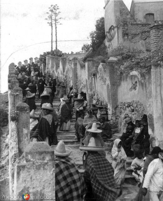 Fotos de Ciudad de México, Distrito Federal, México: Escalinata de La Villa de Guadalupe