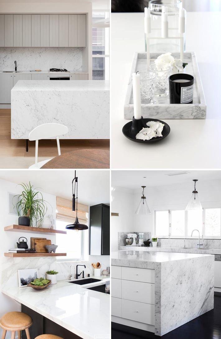 Cozinha com bancada de mármore mancha? Hoje no blog eu mostrei uma novidade que vai fazer você ter a cozinha escandinava dos sonhos e sem mancha alguma! Vem ver: http://comprandomeuape.com.br/2016/05/pedra-de-quartzo-que-parece-marmore.html