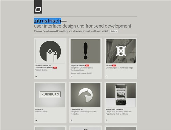 30+ Impressive Single Page Websites